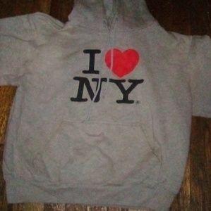 NYC love hoodie